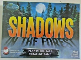 ThinkFun Shadows In The Forest Play In The Dark Strategy Board Game - $22.00