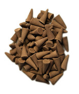 """35 Eucalyptamint Incense 1"""" Cones Hand Dipped handmade Fragrant Scent oils Aroma - $9.99"""
