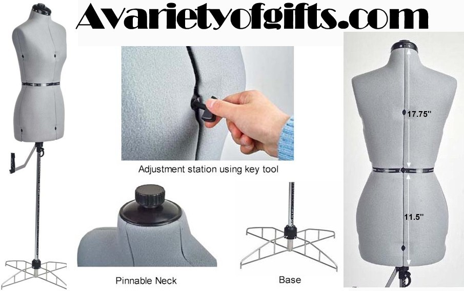 New Adjustable Mannequin Dress form Sewing - Small