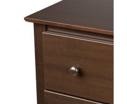 Prepac Fremont Espresso 6 Drawer Dresser
