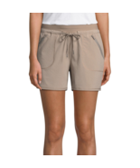 St. John's Bay Active Pull-On Shorts New Size XL, XXL New Sand Beige - $14.99