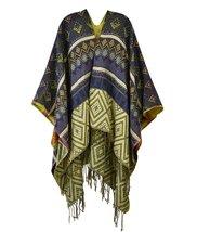 Le Nom Exotic Aztec Pattern Fringe (Navy) - $24.74