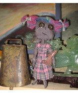 "8 1/2"" OOAK- Primative rag doll  COMING APART AT THE SEAMS - #8, CLARA W... - $35.00"