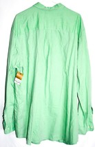The Foundry Men's Mint Kelly Green Long Sleeve Button Down Shirt Size 2XLT image 2