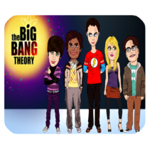 Mouse Pads The Big Bang Theory Bazinga Design Anime Gaming Fantasy Mousepads - $6.00