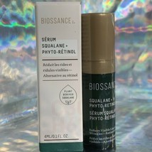 Biossance Phyto Retinol Serum w. Bakuchiol Reduce Lines/Wrinkles 4mL NWOB