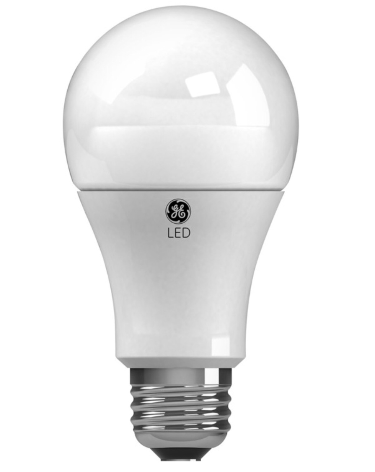 GE (2 Bulbs) 60W Equivalent Daylight (5000K) 800 Lumens A19 Dimmable LED Bulb