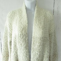 New Gap Cardigan Sweater XS X Small Ombre Fuzzy Knit Stripe Open Front 2018 - £21.13 GBP