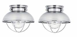 Sea Gull Lighting Sebring One-Light Outdoor Flush Mount Ceiling Light wi... - $350.35