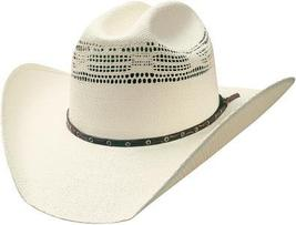 Bullhide Lubbock 20X Bangora Straw Traditional Cowboy All Around Venting Natural - $66.00
