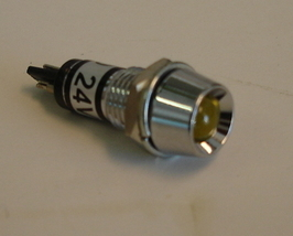 Panel Indicator Lamp, 24V Yellow - $1.50