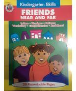 Friends Near And Far - Kindergarten Skills Activity Book by Frank Schaffer - $19.99