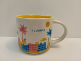 Starbucks Florida You Are Here Collection Coffee Mug Cup 14 oz Excellent... - $8.90