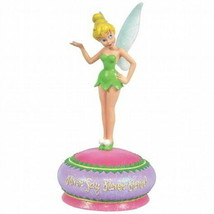 "Walt Disney Tinklerbell ""Never Say Never""  Musical Resin Figurine, NEW UNUSED - $30.95"