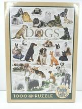 Cobble Hill Dogs 1000 Pc Puzzle Pug Poodle Doberman Pekingese Bulldog Ca... - $29.69