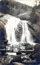 Colorado Springs Helen Hunt Falls North Cheyenne Canon Postcard RPPC AZO - $2.99