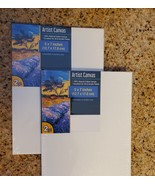 Artist Canvas Set, Pack of 4, 5x7 inches, 100% cotton for oil or acrylic... - $8.99