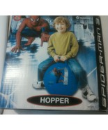 Spiderman Marvel HOPPER BALL Bouncer Build Coordination Blue Age 4+ Heds... - $9.77