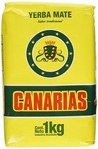 Pack of 2 Canarias Yerba Mate Sabor Tradicional Bag  2.2 lb  Brasil - $20.00