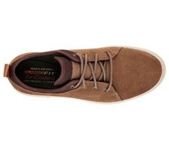 Men's SKECHERS SKECH-AIR: PORTER - ELDEN Casual Shoe, 65141 BGE Sizes 8-14 Beige image 3