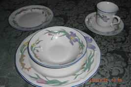 GIBSON China Angel 5 Piece Place Setting in Excellent Condition! - $24.99