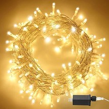 Aluan Christmas Lights 200 LED 76 ft Indoor Fairy String Lights 8 Modes ... - $15.24