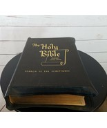 The Holy Bible Protestant Library Edition 1950's - $180.00