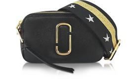Marc Jacobs Snapshot Small Camera Bag Crossbody Bag Gold Black Star Stra... - ₨14,618.86 INR