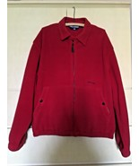 Ralph Lauren Polo Sport Red Fleece Full Zipper Jacket (L) - $18.70