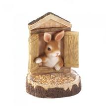Bunny Wall Hanging Bird Feeder - $18.95