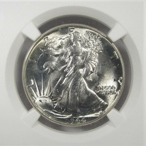 1944-P Silver Walking Liberty Half Dollar NGC MS64 Coin AI964 - $67.63