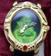 Disney Watch Snow White 3-D Magic Mirror Wicked Queen Witch Women's Watch - $117.81