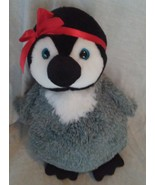 """The Petting Zoo PENGUIN Plush 12"""" with Red Bow on Head - $19.96"""
