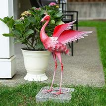 Summerfield Terrace Flying Flamingo Metal Garden Decor, 27.5 inches - $53.06