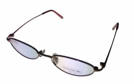 Coach Ophthalmic Womens Eyeglass Frame Soft Oval Antique Rose Metal, Cas... - $44.99