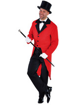 Red Tailcoat - Circus / Ringmaster / Cabaret Show  - Gents - $10.87+