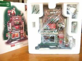 Dept 56 Christmas In The City Coca Cola Soda Fountain A Coke For Santa Figurine - $154.11