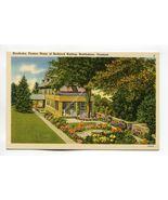 Naulhaka Former Home of Rudyard Kipling Brattleboro Vermont - $2.99