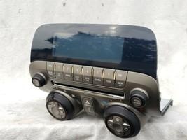 10-15 Camaro Radio OEM Climate Control AC Faceplate Display P/n 20990311 image 2