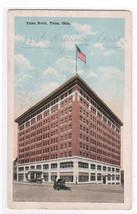 Tulsa Hotel Tulsa Oklahoma 1917 postcard - $4.46