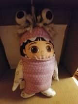 "Disney Pixar Monsters Inc Huggable Boo in Costume Talking 12"" Doll Roar ... - $9.25"