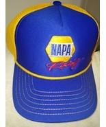 OLD VTG Chase Elliott #9 NAPA Chevy on a Trucker's blue/yellow mesh ball... - $22.00