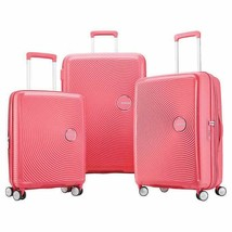 American Tourister Curio Luggage Light Pink 3-Piece Hard-Sided Spinner W... - $268.99