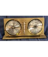 BARIGO - Captain Schreibtiscg Weather Station Barometer, Thermometer, Hy... - $49.49