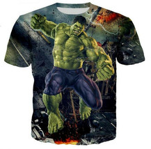 Fashion Men/Women comics The Avengers heros 3D Print Casual T-Shirt Shor... - $33.80