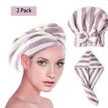 BEKVAMT Microfiber Hair Drying Towel Turban Twist for Long Hair Wrap Towels, Sup