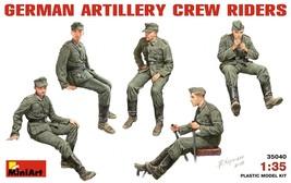 Miniart Models - 35040 - German Artillery Crew Riders - $13.99