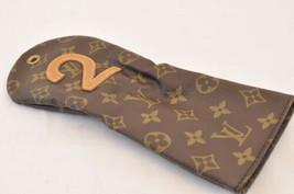 Louis Vuitton Monogram Golf Club Head Cover Case No.2 M58242 Lv Auth sa1820 - $140.00