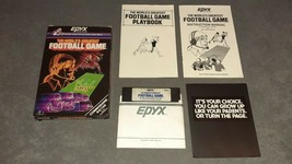Commodore 64/128: The World's Greatest Football Game Epyx [COMPLETE w/ Box] - $39.00