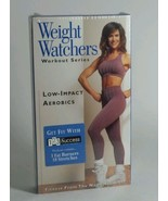 WEIGHT WATCHERS VHS LOW IMPACT AEROBICS SERIES VOLUME 1 ISBN 0-7921-3795-7 - $7.83